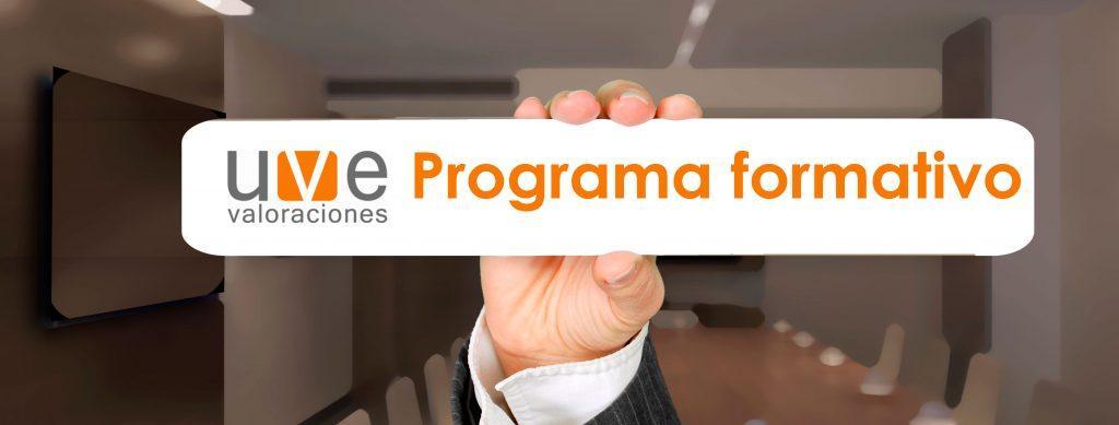 programa formativo uve valoraciones